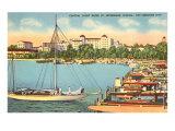 Yacht Basin  St Petersburg  Florida