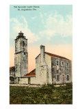 Spanish Lighthouse  St Augustine  Florida