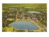 Aerial View of Lakeland  Florida