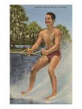 Barefoot Water Skier  Florida
