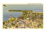 Aerial View of Sarasota  Florida