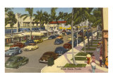 Lincoln Road  Miami Beach  Florida
