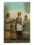 Seminole Indian Family  Florida