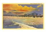 Sunset  Jacksonville Beach  Florida