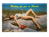 Waiting for you in Florida  Bathing Beauty
