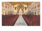 Church Interior  Palm Beach  Florida