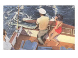 Fishing from Motorboat  Florida