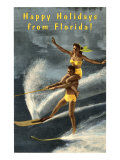 Happy Holidays from Florida  Water Skiers