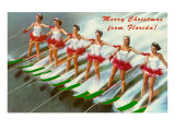 Merry Christmas from Florida  Water Skiers