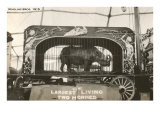 Rhino in Circus Wagon  1915