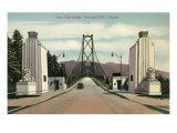 Lions Gate Bridge  Vancouver  British Columbia