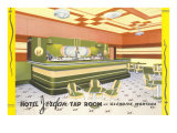 Hotel Jordan Tap Room  Glendive  Montana