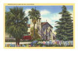 Santa Clara de Asis Mission  California