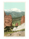 Garden of the Gods  Pike's Peak  Colorado