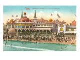 Casino and Beach  Santa Cruz  California
