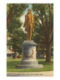 Nathan Hale Statue New London  Connecticut