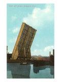 Roller Lift Bridge  Bridgeport  Connecticut