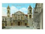 Cathedral Square  Havana  Cuba