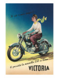 Victoria Motorcycle Advertisement