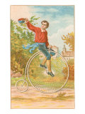 Boy on Penny-Farthing