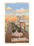 Marti or Prado Promenade  Havana  Cuba
