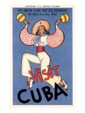 Visit Cuba  Maracas Lady