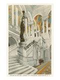 Grand Staircase  Library of Congress  Washington DC