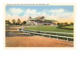 Delaware Park Race Track  Wilmington  Delaware