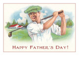 Happy Father&#39;s Day  Golfer