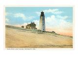 Henlopen Lighthouse  Rehoboth  Delaware