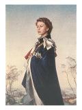 Queen Elizabeth II in Robes