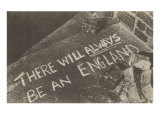 There Will Always Be an England Chalk on Pavement