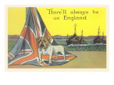 English Bulldog on Union Jack