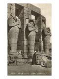 Ramesseum  Thebes  Egypt