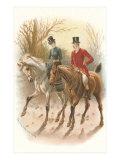 Pair of English Riders