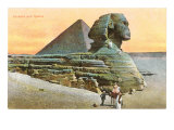 Pyramid and Sphinx  Egypt