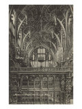 Henry VII Chapel  Westminster Abbey  London  England
