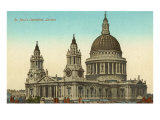 St Paul&#39;s Cathedral  London  England