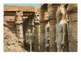 Pharaoh Statues  Luxor  Egypt