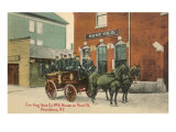 Early Fire Equipment  Providence  Rhode Island