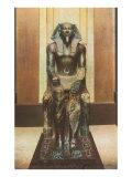 Pharaoh Statue in Cairo Museum  Egypt