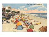 Ocean Beach  Ft Lauderdale  Florida