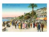 Promenade  Nice  France