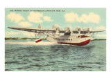 Pan-American Clipper Taking Off  Florida