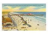Beach  Pier  Jacksonville  Florida