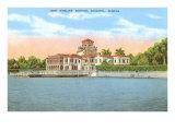Ringling Mansion  Sarasota  Florida