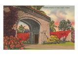 Alhambra Entrance  Coral Gables  Florida