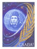 Yuri Gagarin  Laurel Leaf