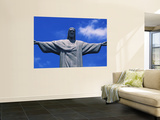 Christ the Redeemer Statue  Corcovado  Rio de Janeiro  Brazil