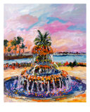 Charleston Sc Pineapple Fountain By Ginette